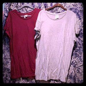 Tee shirt dresses